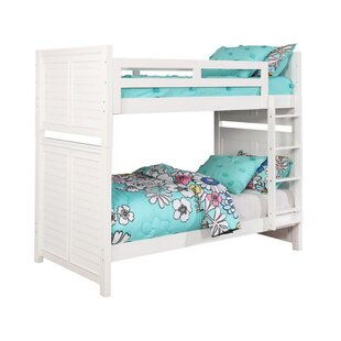 Werner Twin Over Twin Bunk Bed by Harriet Bee