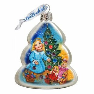 Decorating Tree Shaped Ornament by The Holiday Aisle