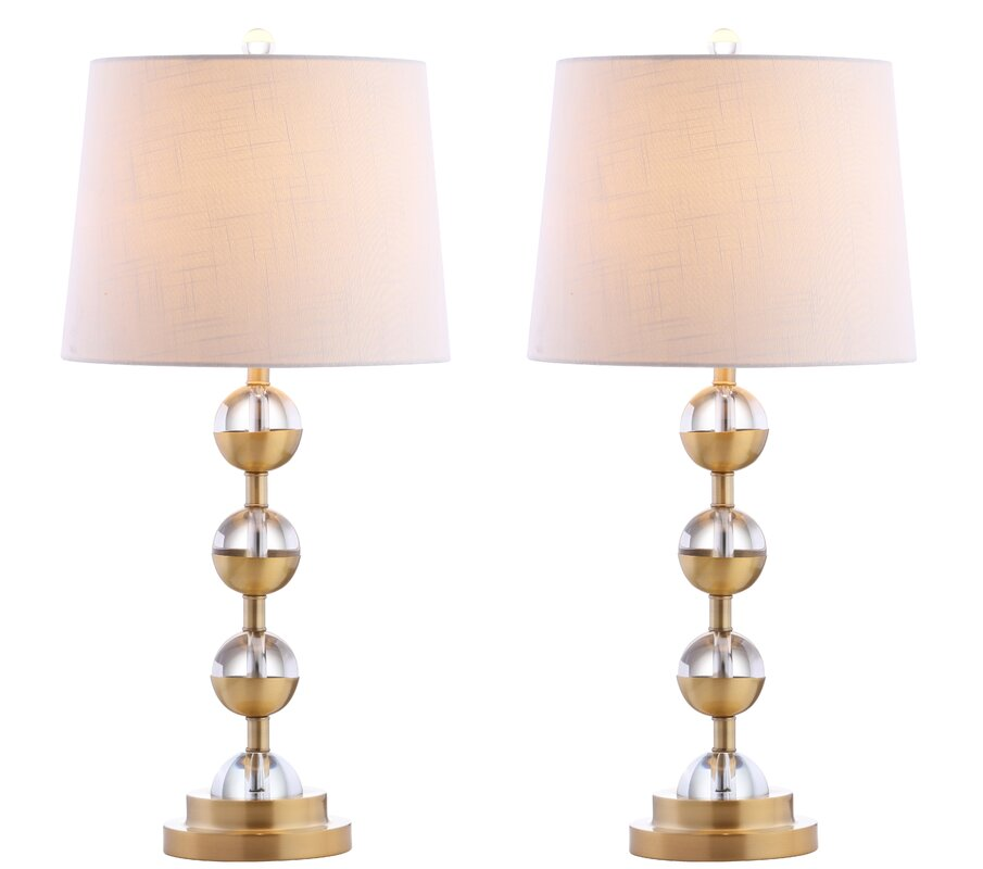 Sunset Pointe 2 Piece Table And Floor Lamp Set