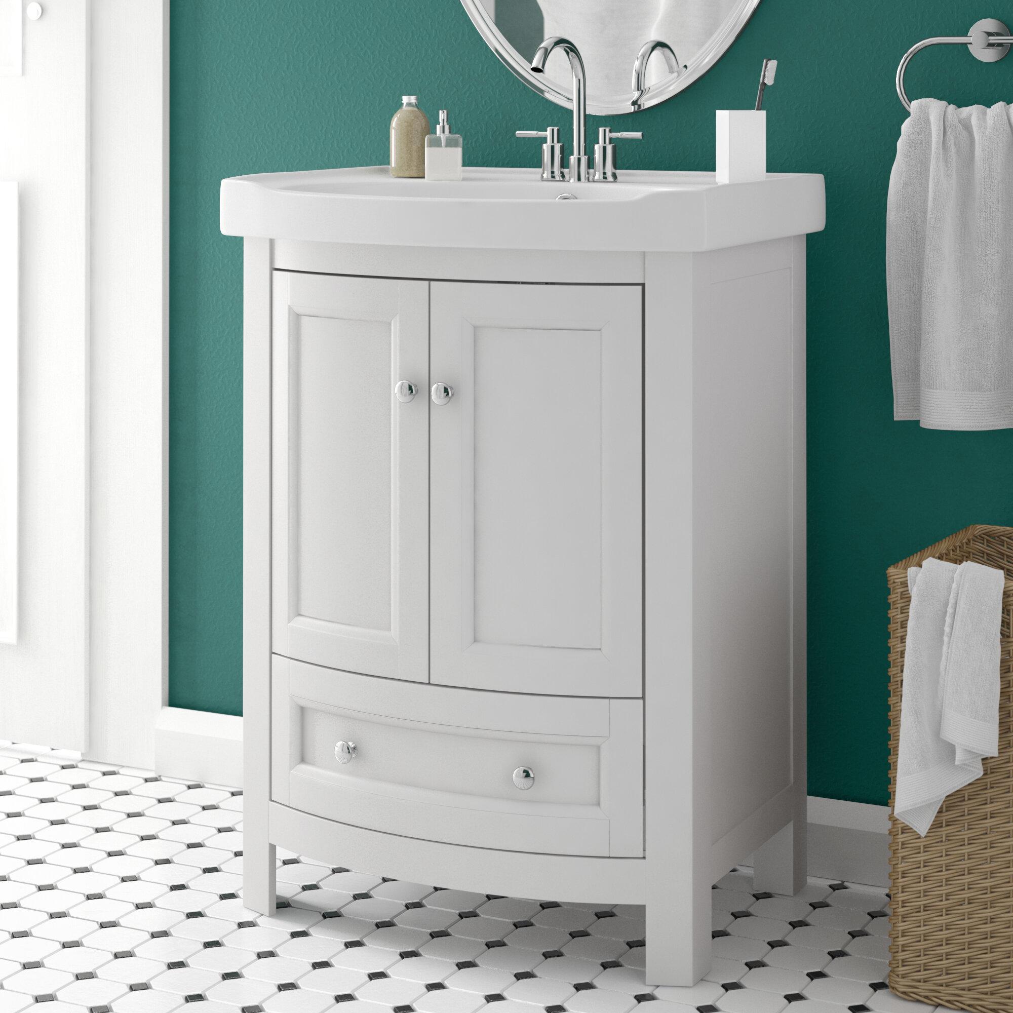 Charlton Home Thibeault 24 Single Bathroom Vanity Set Reviews Wayfair