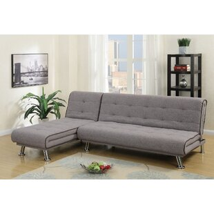A&J Homes Studio Goulet Sleeper Sectional