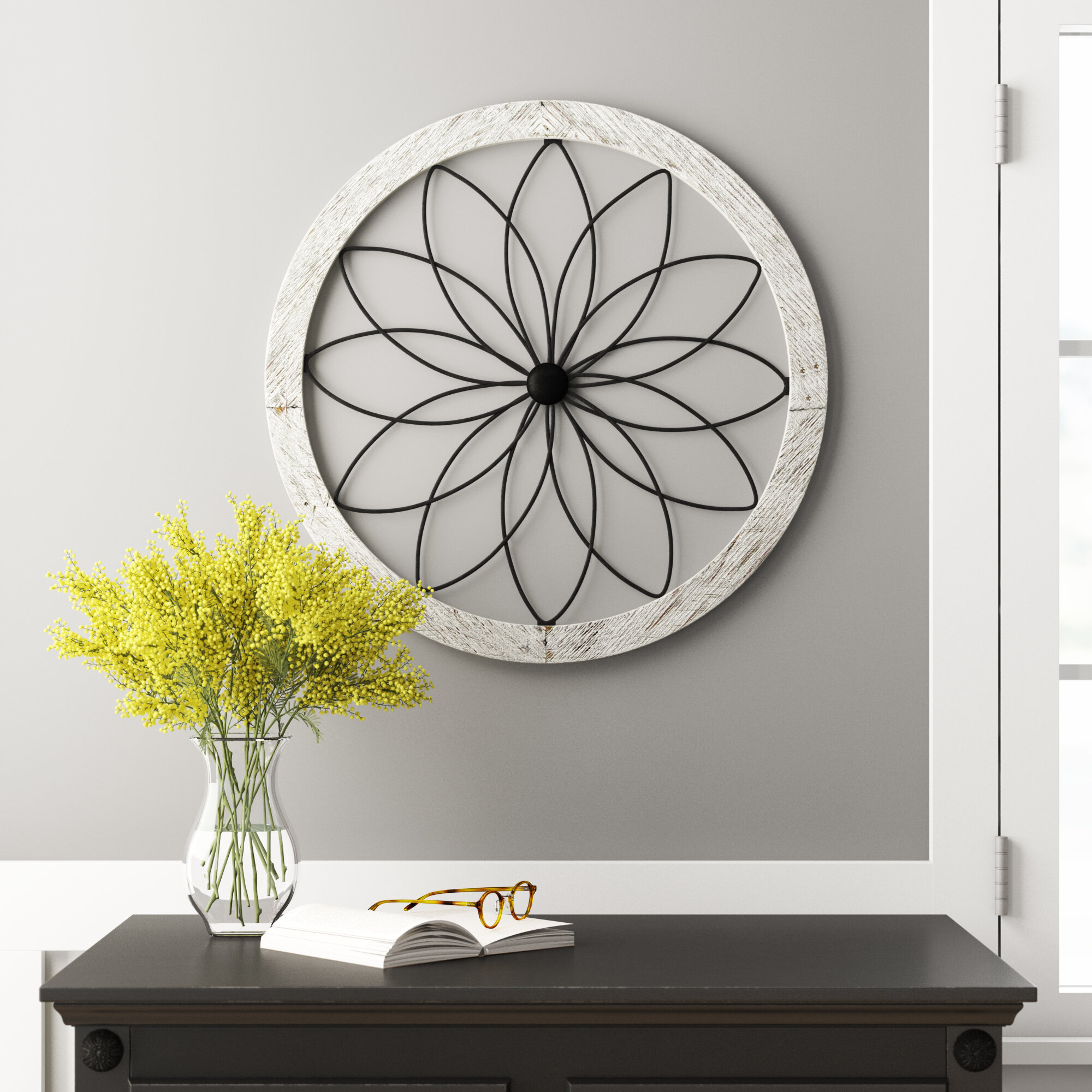 Black Metal Wall Accents You Ll Love In 2021 Wayfair