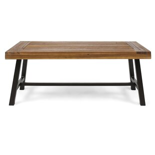 Price comparison Aditya Outdoor Wooden Coffee Table By Millwood Pines