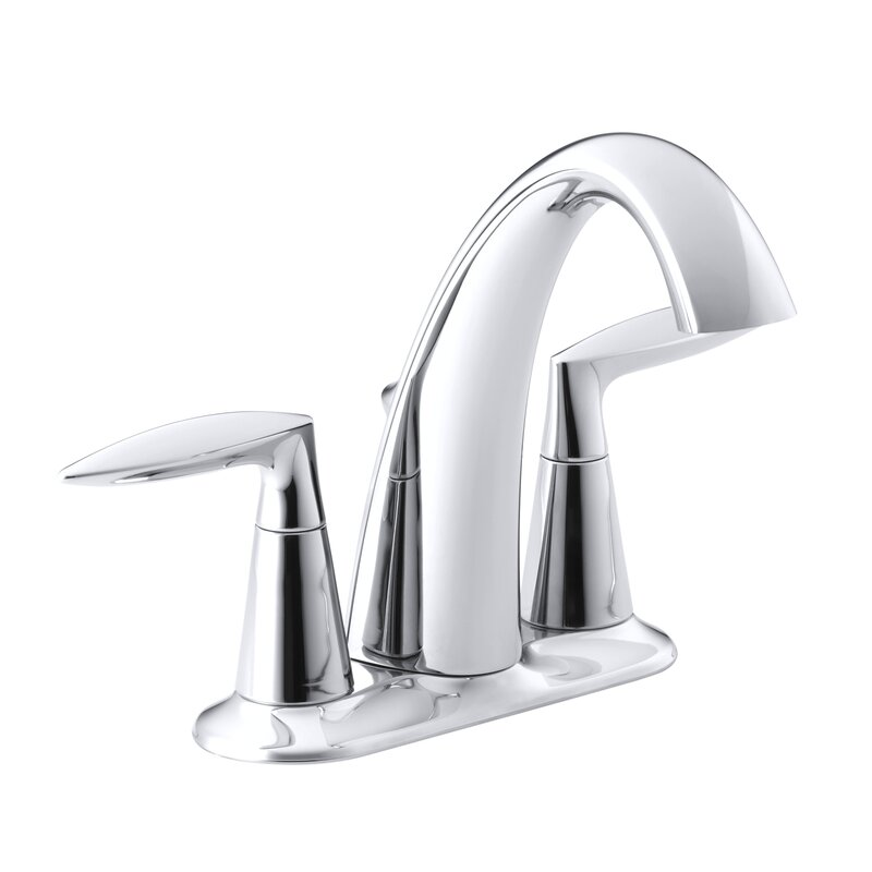 Bathroom Sinks Faucets kohler alteo centerset bathroom sink faucet & reviews | wayfair