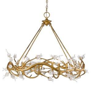 Rosmeer 8-Light Crystal Chandelier