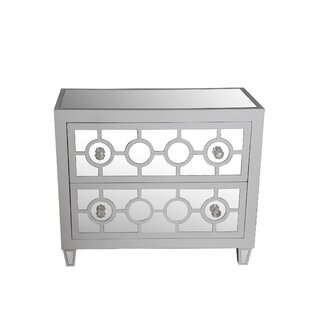 Katzman 2 Drawer Accent Chest by House of Hampton