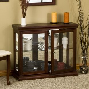 Newark Console Curio Cabinet by Charlton Home