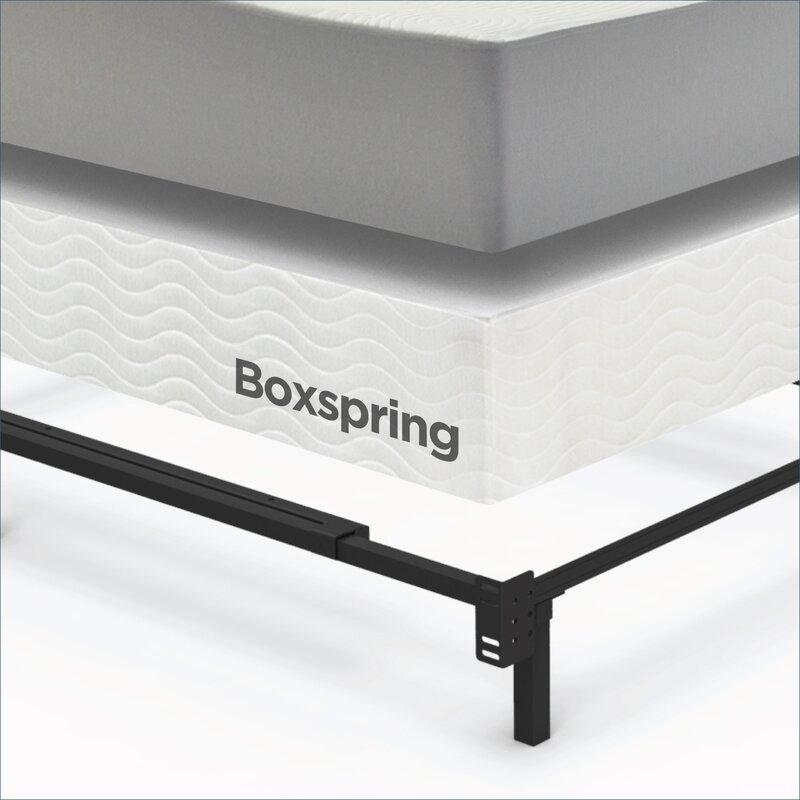 Adjustable Full To King Size Bed Frame Reviews Birch Lane