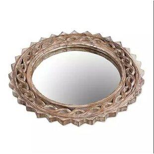 Bloomsbury Market Mcray Eternal Shine Wood Accent Mirror