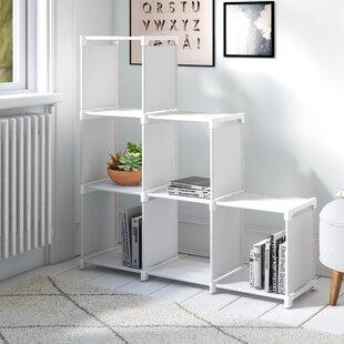 Mcneel 6 Compartment Bookcase By Rebrilliant