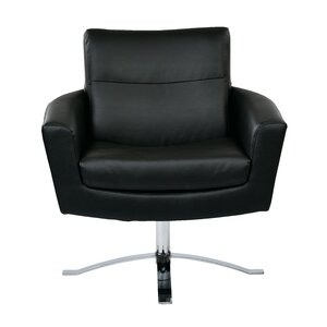 Leontine Leather Arm Chair