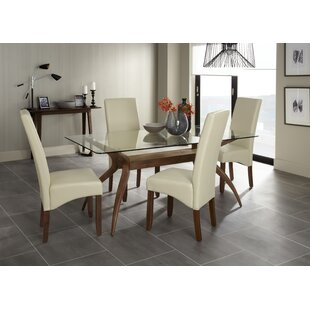 Dining Table With 4 Chairs By Ophelia & Co.