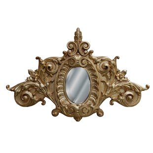 Hickory Manor House Scroll Accent Mirror
