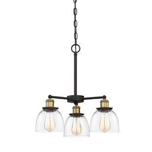 Thirza 3-Light Shaded Chandelier