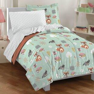 Hermon Forest Pals 5-Piece Comforter Set