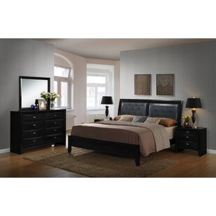 Plumwood 5 Piece Platform Bedroom Set