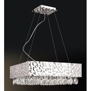 Orren Ellis Holldorff 12-Light Square/Rectangle Chandelier