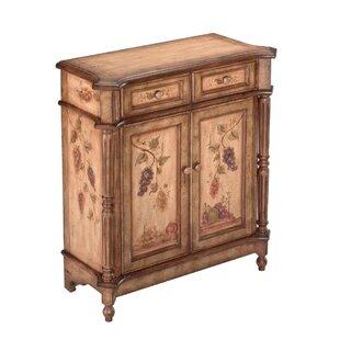 Clarkesville 2 Drawer Accent Cabinet by Fleur De Lis Living