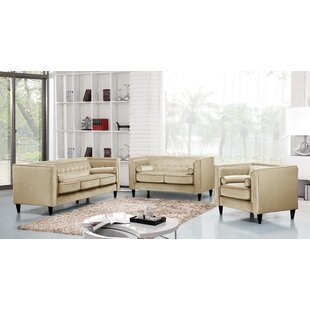 Reviews Roberta Configurable Living Room Set by Willa Arlo Interiors Reviews (2019) & Buyer's Guide