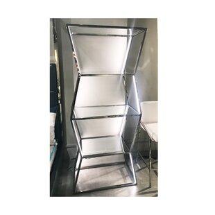 Vikenti Geometric Bookcase by Orren Ellis
