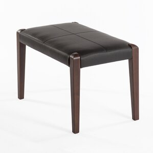 Holstrand Leather Ottoman by dCOR design
