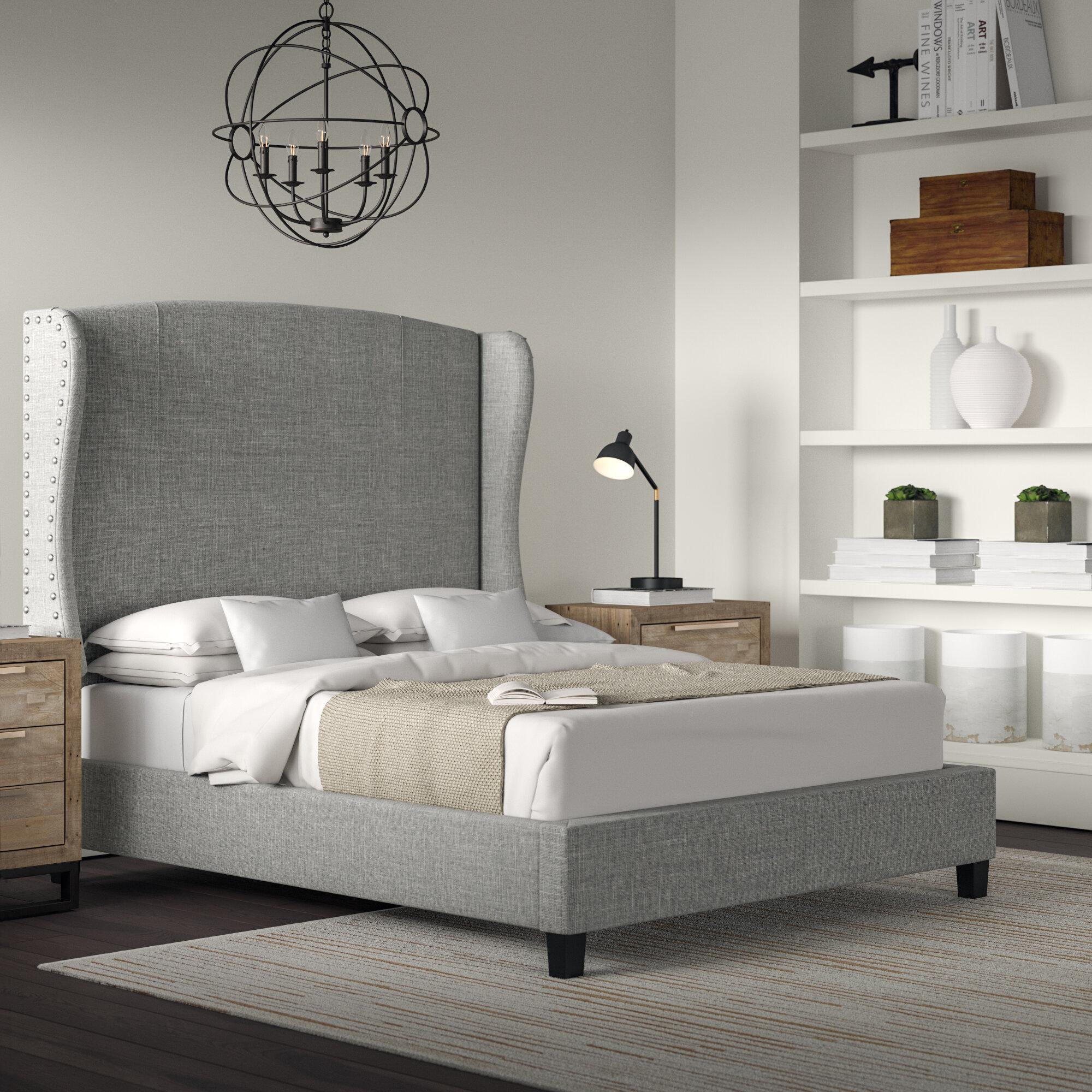 Greyleigh Progreso Upholstered Platform Bed Reviews Wayfair