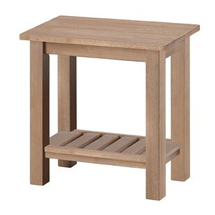 Threatt End Table by August Grove