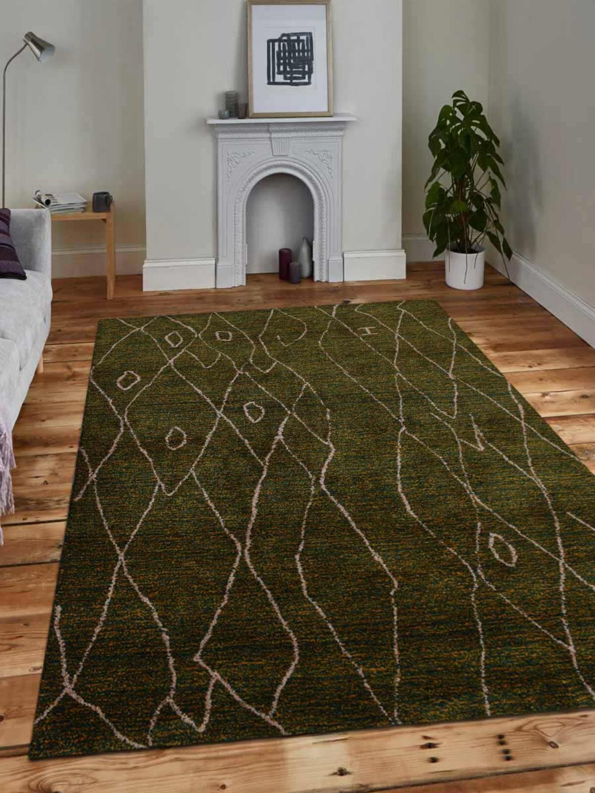 Green Thick Pile Kitchen Rugs You Ll Love In 2021 Wayfair