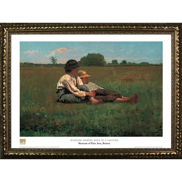 Buy Art For Less Museum Masters The Boys In A Pasture By Winslow