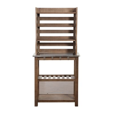 Moyers Wood Baker's Rack Gracie Oaks