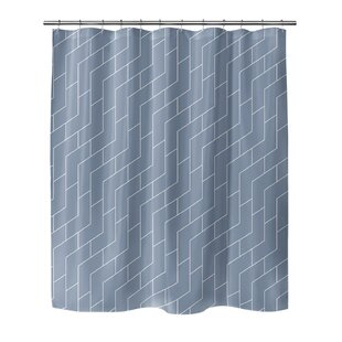 Judith Gap Brick Single Shower Curtain