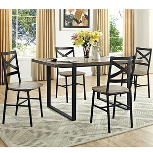 Madelyn 5 Piece Dining Set Laurel Foundry Modern Farmhouse