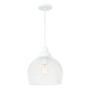 Mercury Row Abaokoro 1-Light Dome Pendant