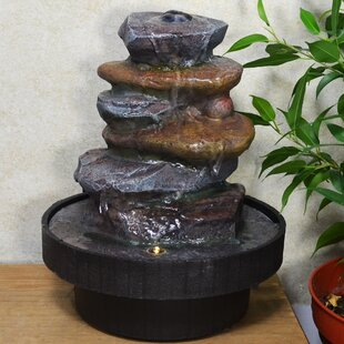 Dupree Resin Water Fountain With Light By Sol 72 Outdoor