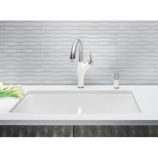 Diamond 32 L X 19 25 W Double Basin Undermount Kitchen Sink With Clips