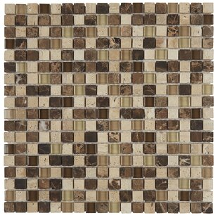 Review Stone Radiance 0.63 x 0.63 Slate Mosaic Tile in Multi by Daltile