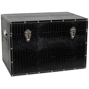 World Menagerie Fields Faux Leather Crocodile Trunk
