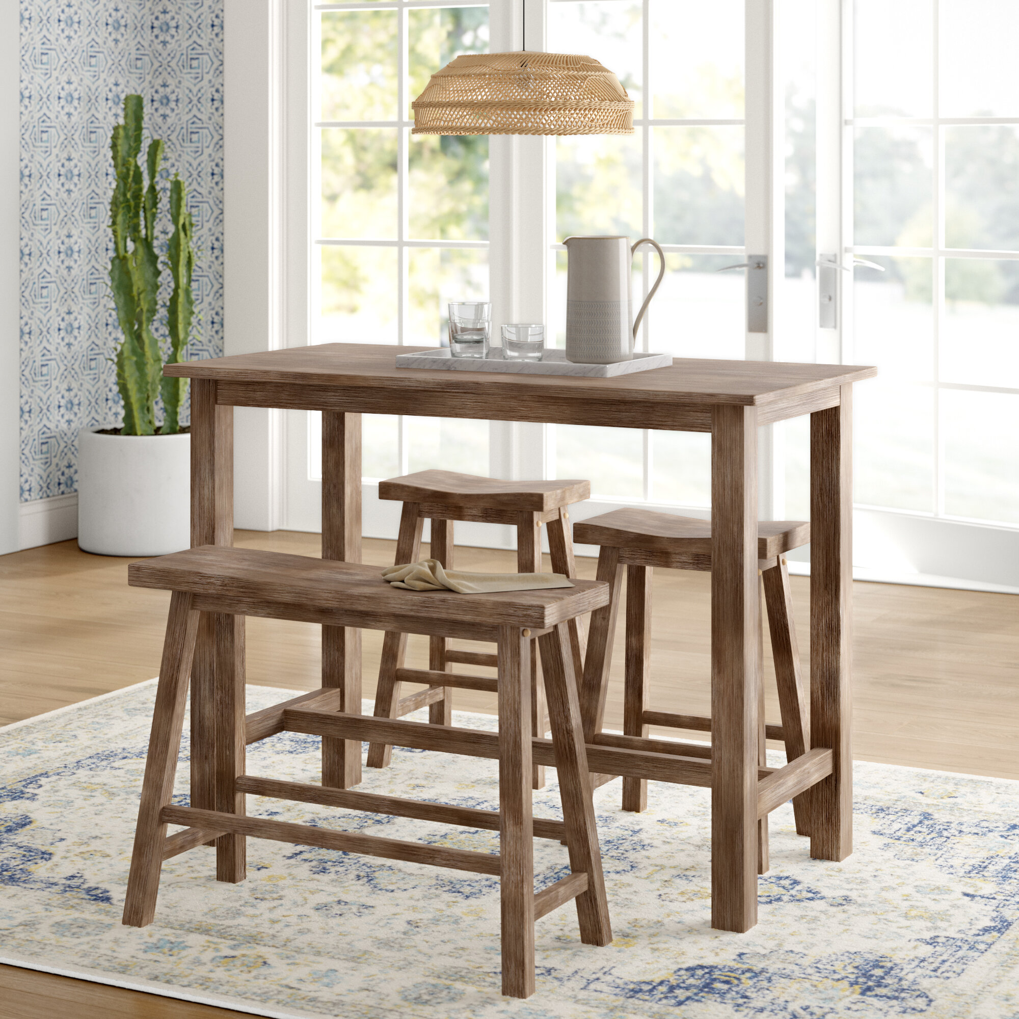 Cottage Country Kitchen Dining Room Sets You Ll Love In 2020 Wayfair