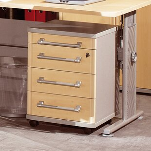 4 Drawer Mobile File By Brayden Studio