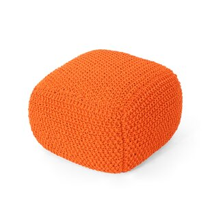 Groner Knitted Pouf by Ebern Designs