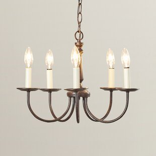 Rudolph 5-Light Candle Style Chandelier by Charlton Home
