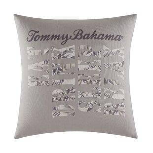 Sandy Coast Cotton Throw Pillow