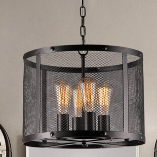Warehouse of Tiffany Tiyosa Round 4-Light Pendant