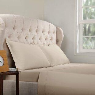 Charlton Home Geoffrey 100% Cotton Jersey Bed Sheet Set