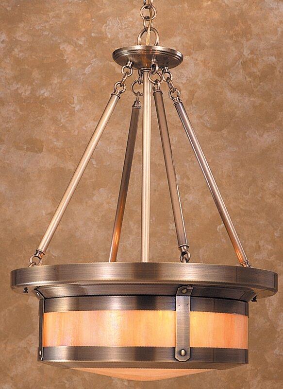 Berkeley 4-Light Drum Pendant
