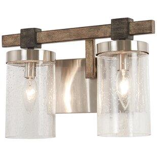 Union Rustic Lipscomb 2-Light Vanity Light