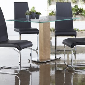 Glass Rectangular Kitchen Dining Tables Youll Love Wayfair