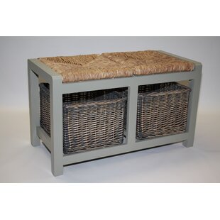 Gracelyn Wicker Storage Bench By Beachcrest Home