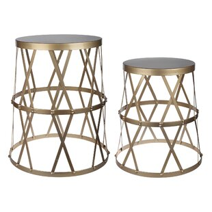 Brunelle 2 Piece End Table Set