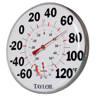 Temperature / Humidity Gauge By Hydrofarm